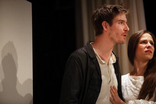 Vladimír v psychothrilleru Dejvického divadla s názvem Zimní pohádka.