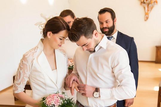 Karolina Gudasová a Michal Neuvirth