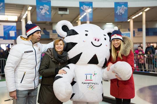 Celebrity v olympijském parku v Brně