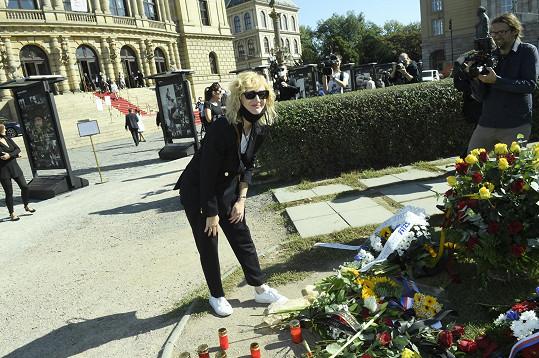 Zavzpomínala na Jiřího Menzela.