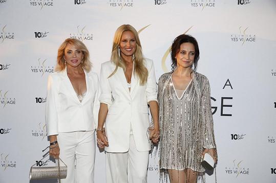 Zdena Studenková, Simona Krainová a Lucie Bílá jsou tvářemi největší česko-slovenské kliniky estetické medicíny a plastické chirurgie Yes Visage.