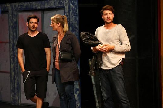 V seriálu hraje i Marek Němec (vpravo).