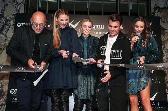 Halina otevřela v Praze svůj módní butik.