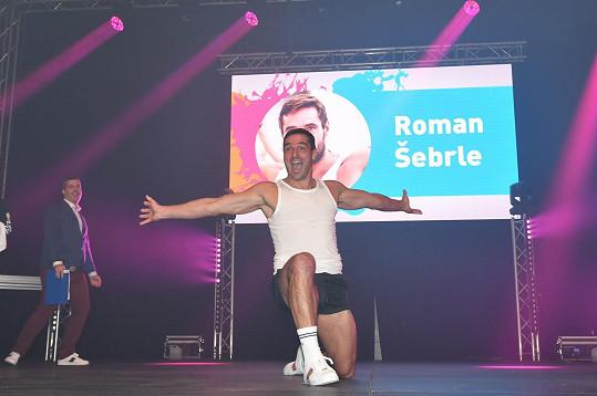 Roman pořád žije sportem.