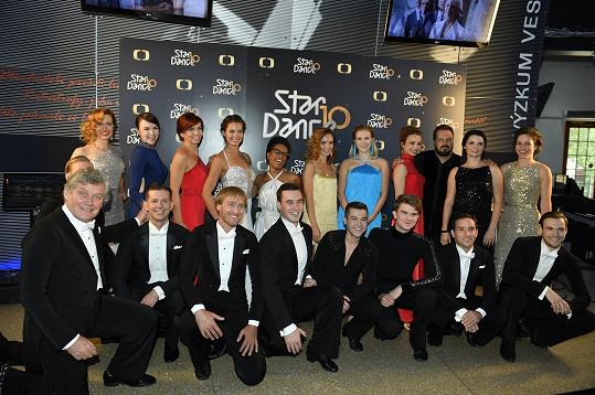 Letošní soutěžící StarDance se předvedou už 12. října.
