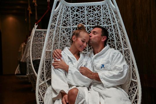 Roman s Petrou maj rádi i wellness.