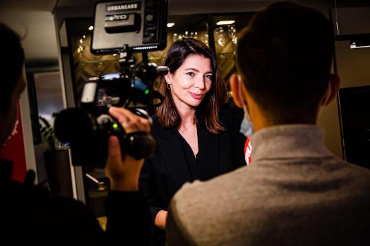 Monika během rozhovoru pro Super.cz