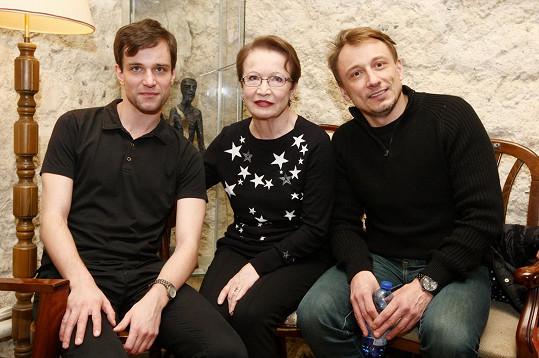 Ondřej Novák, Hana Maciuchová a Petr Stach si zahrají v divadelní hře 4000 dnů.