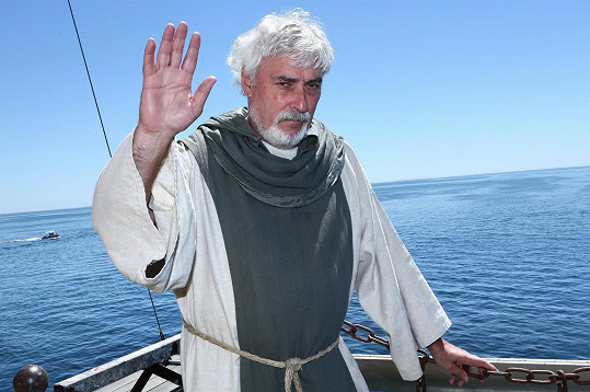 Jan Rosák jako strážce klíčů od pevnosti Boyard
