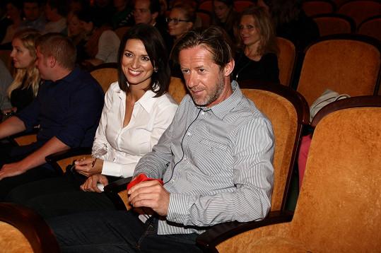 Langmajer a Gondíková v kině.
