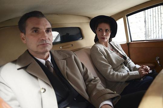 S Kateřinou Winterovou ve filmu Toman