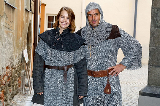 Roman Šebrle a Gabriela Lašková se na chvilku ocitli v historii.