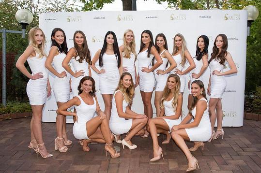 Finalistky České Miss 2021