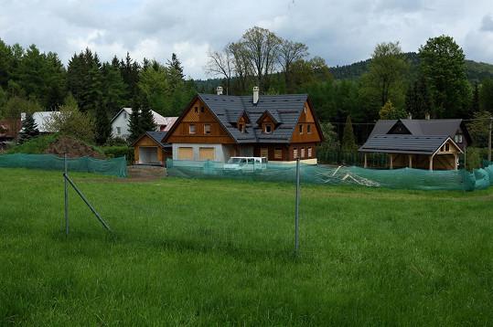 Celkový pohled na možné nové sídlo Karla Gotta