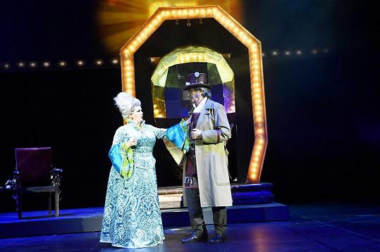 Čaroděj Pepa a Barbora Rajnišová jako Madam Morrible