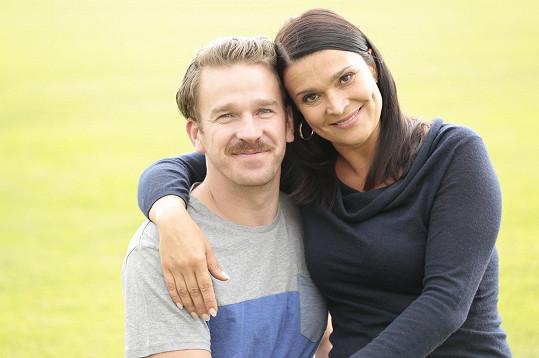 Bočanová má nového manžela, alespoň v seriálu.