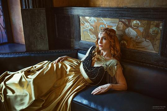 Hana na fotkách z amerického magazínu
