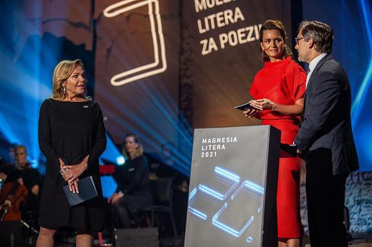 Dagmar Havlová letos opět předala cenu za poezii.