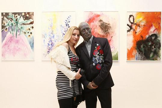 S partnerkou Idou Saudkovou