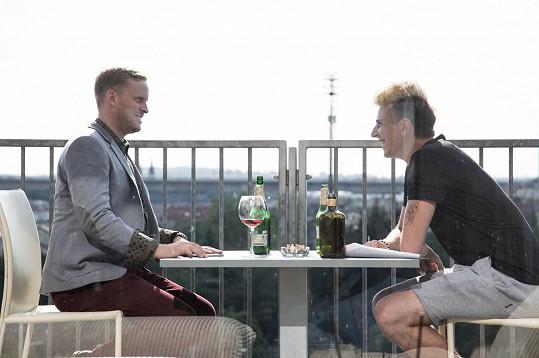 S Jakubem Prachařem