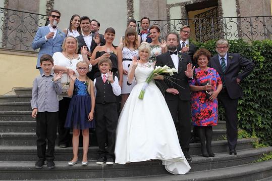 Z natáčení filmu Jak se zbavit nevěsty