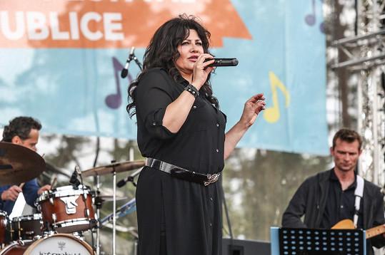 Csáková se po vystoupení na Prima Festu těší na dovolenou v Řecku.