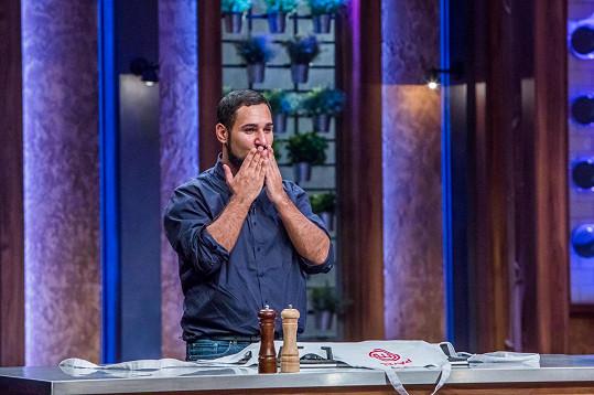 Pavel Berky se proslavil v kulinářské show TV Nova MasterChef.