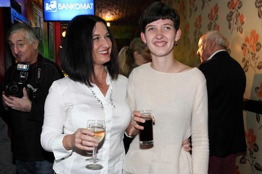 Mirka Čejková s dcerou Petrou