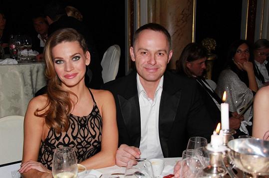 S manželem Danielem Volopichem