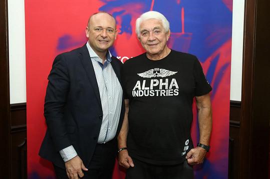 S organizátorem soutěže Davidem Novotným