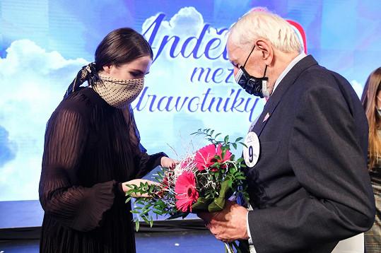 Blahopřála mu také Kateřina Zemanová.