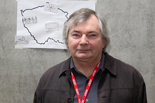 Ján Zákopčaník se stále živí jako meteorolog.