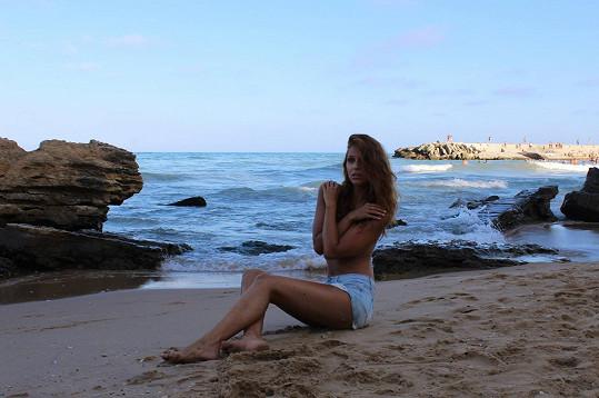 Tyhle sexy fotky nafotila v Bulharsku během soustředění Miss Face.