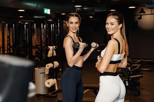 Místo diet dávají Barbora Hodačová a Klára Vavrušková přednost cvičení.