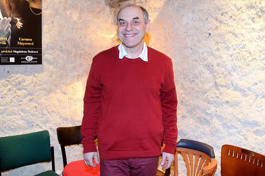 Miroslav Táborský odmítl StarDance a teď ho tanec dohnal v Divadle Ungelt.