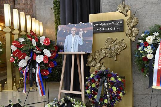 Pohřeb Václava Vorlíčka