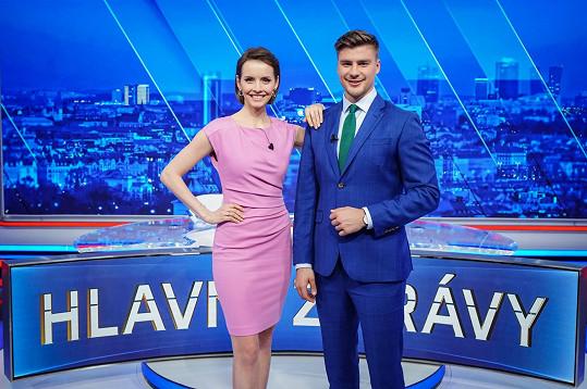 Gabriela Lašková se po necelém roce na mateřské vrací do zpravodajství.