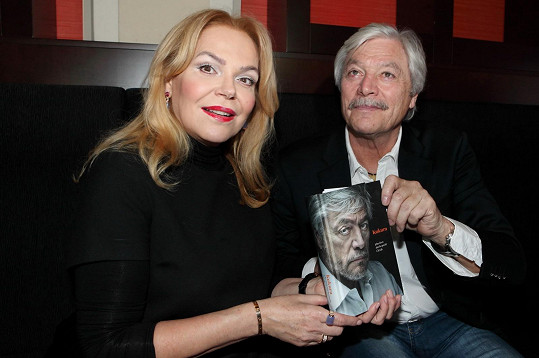 S Jurajem Kukurou na křtu jeho knihy