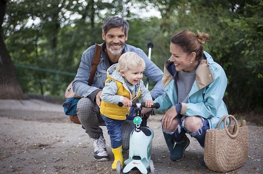 S manželem Mikolášem rozhodně nechtěli zůstat u jednoho dítěte.