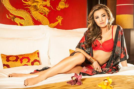 Žaneta Muchová by klidně mohla dělat modelku.