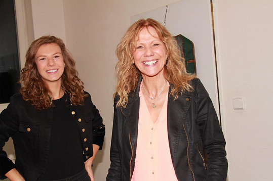 Lenka Filipová se svou dcerou Lenny