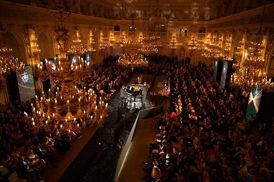 Galavečer se uskuteční ve Španělském sále na Pražském hradě.