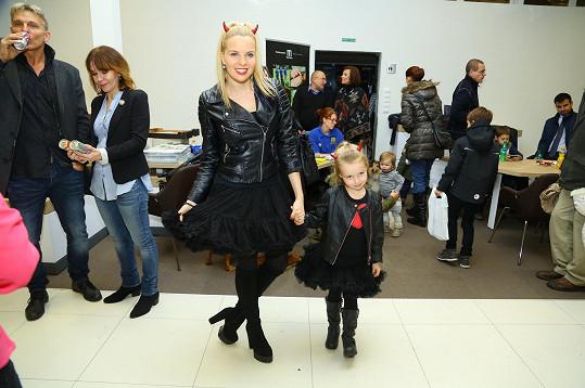 Kateřina Kristelová s dcerou. Byly jako dvojnice!