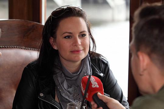 Čvančarová během rozhovoru pro Super.cz
