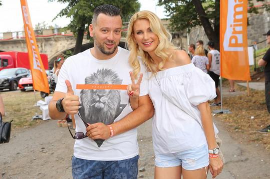 Michal Kavalčík a Sandra Parmová