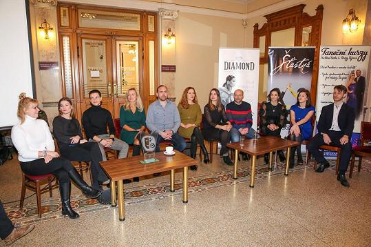 Další ročník soutěže Roztančené divadlo se uskuteční 15. 3. v Divadle na Vinohradech, kde kromě soutěžních párů uvidíme např. Zlatu Adamovskou, Petra Štěpánka, Veroniku Khek Kubařovou, Vladimíra Polívku a další.