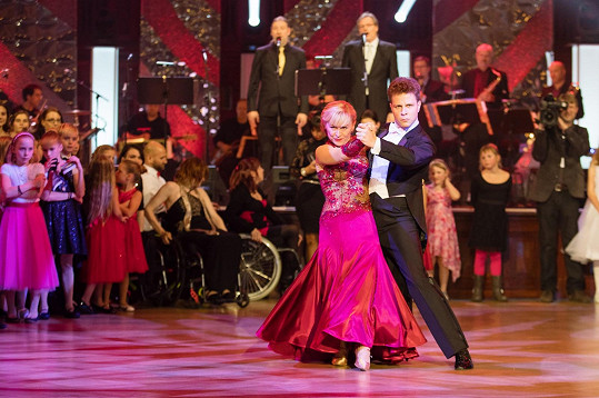Dana Batulková s Janem Onderem tango