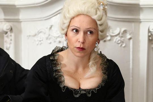 Zuzana Stivínová si zahraje matku Marie Terezie.