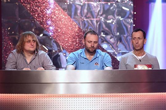 V porotě je hodnotili Lukáš Pavlásek, Miloš Knor a Zdeněk Chlopčík.