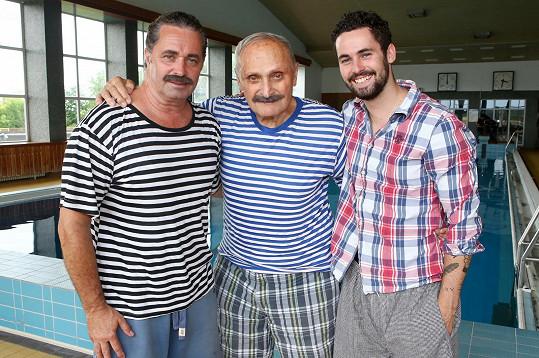 Martin Dejdar si zahraje ve filmu se svým tatínkem i synem.